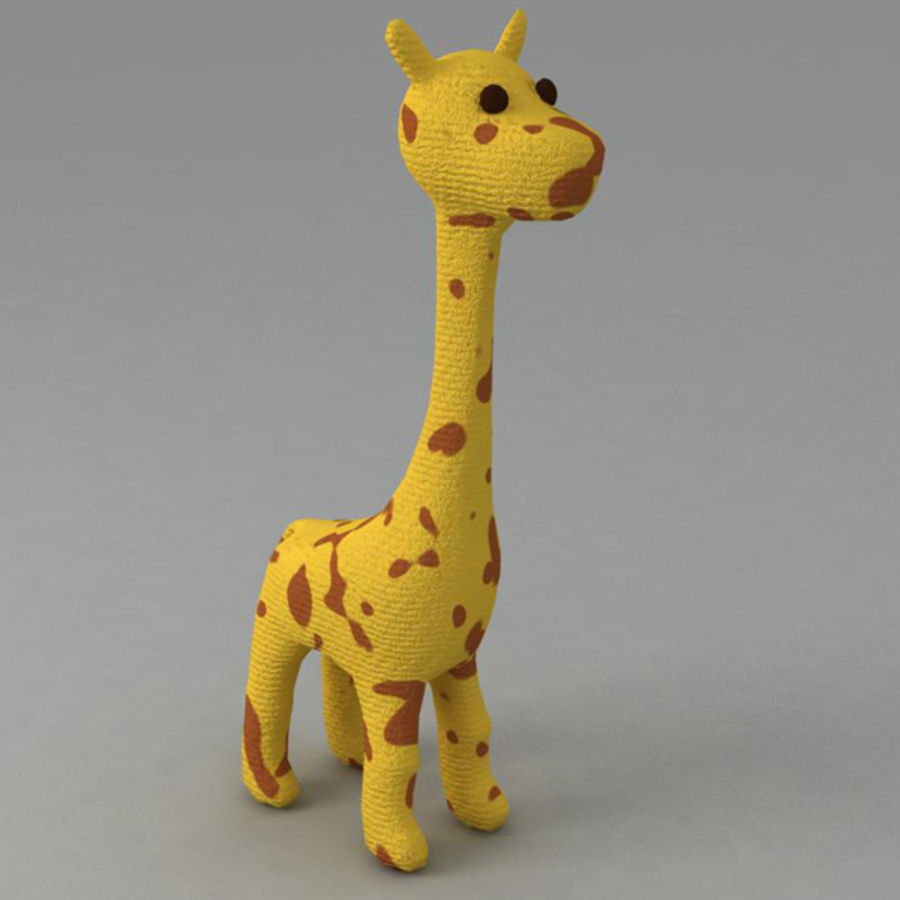 Giraffe royalty-free 3d model - Preview no. 1