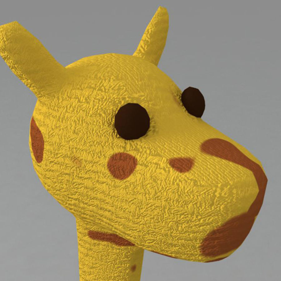Giraffe royalty-free 3d model - Preview no. 5