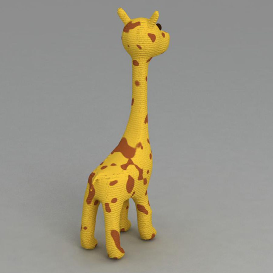 Giraffe royalty-free 3d model - Preview no. 2