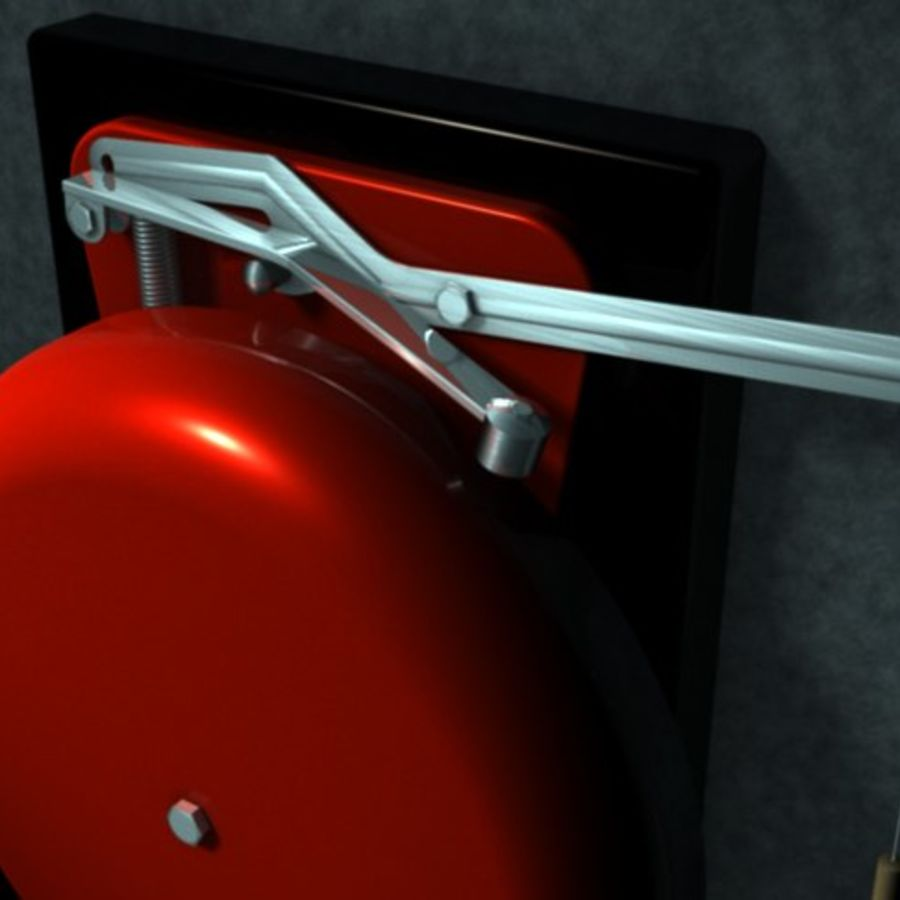 RingBell.zip royalty-free 3d model - Preview no. 2