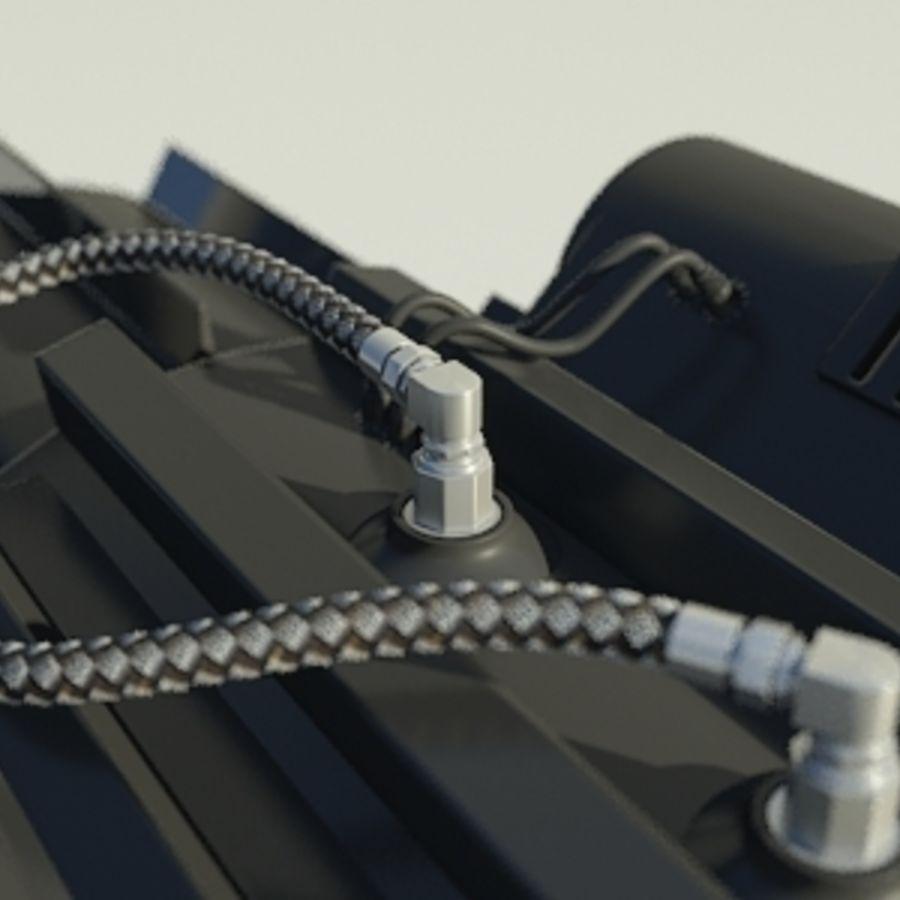 Gatling Gun - 3ds Max2010 - Raio Mental royalty-free 3d model - Preview no. 3