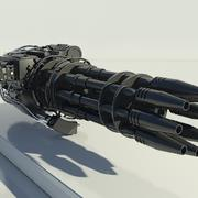 Gatling Gun  -  3ds Max2010  -  Mental Ray 3d model