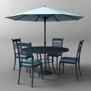 Table_Poolside 3d model