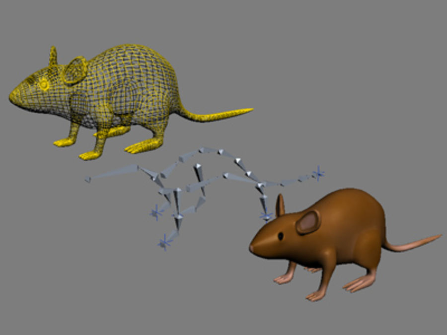 Ratte3.max royalty-free 3d model - Preview no. 6