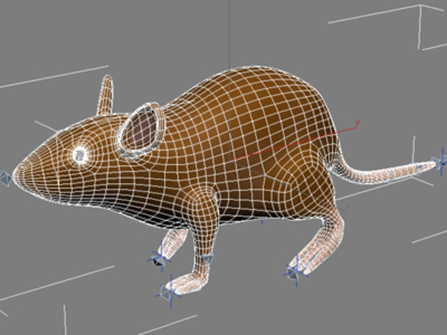 Ratte3.max royalty-free 3d model - Preview no. 7