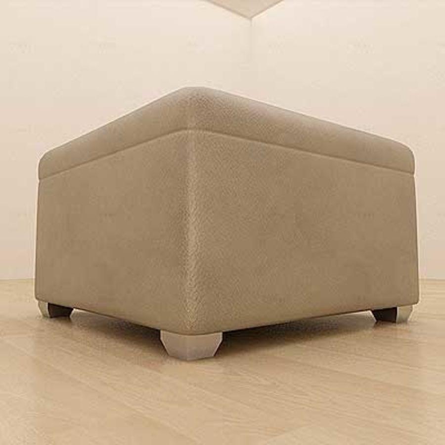Excellent Leather Ottoman 3D Model 4 Max Free3D Short Links Chair Design For Home Short Linksinfo