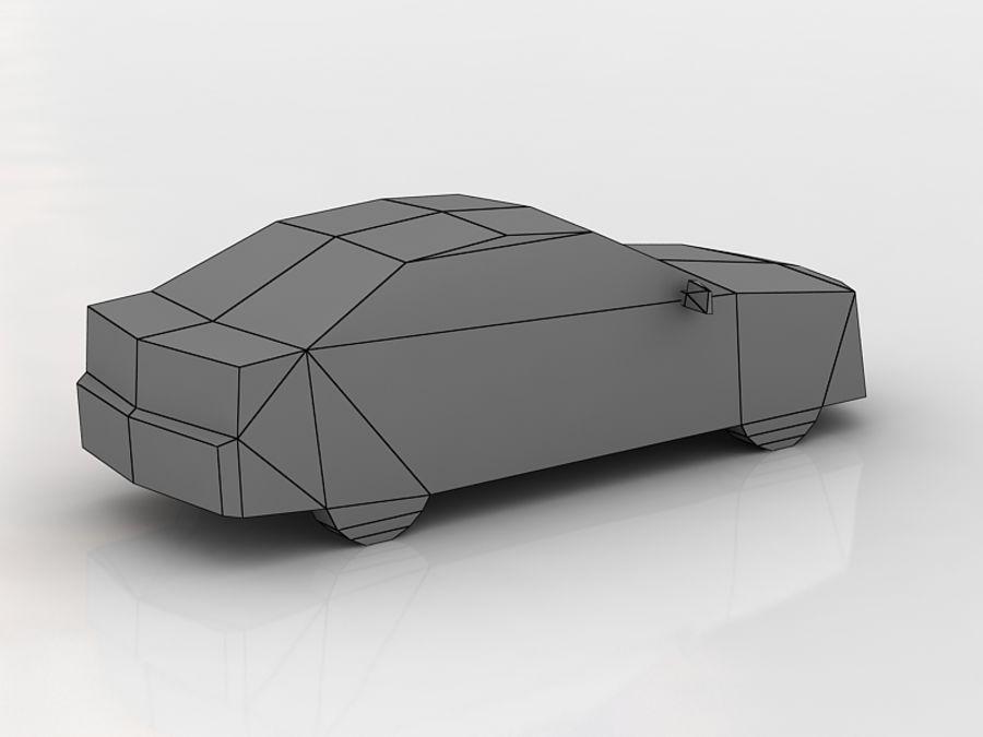 Honda Accord LowPoly royalty-free 3d model - Preview no. 5