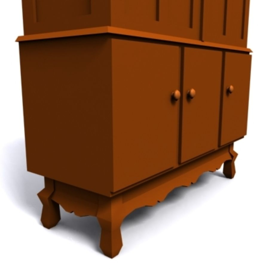 cupboard 002 royalty-free 3d model - Preview no. 3