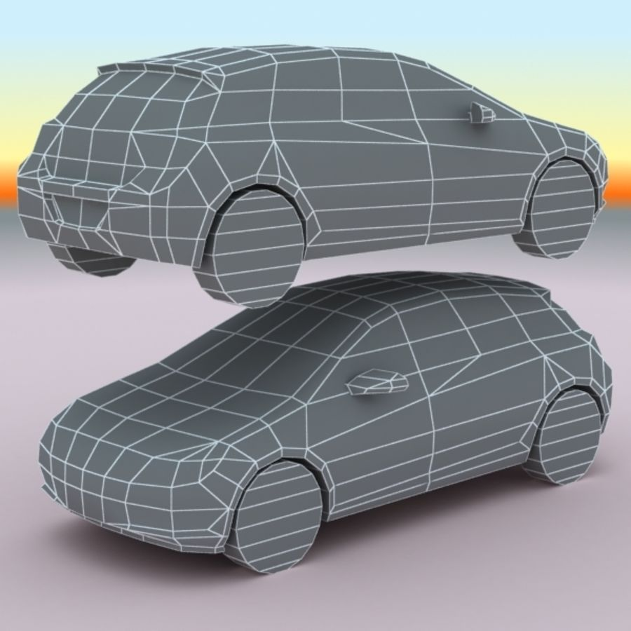 2010 Opel Astra royalty-free 3d model - Preview no. 9