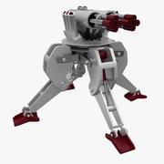 arma de fogo 3d model
