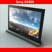 TV Sony NX800 3d model