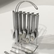 silverware 3d model
