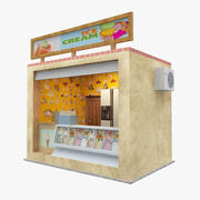 Icecream Shop 3d model