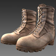 Desert Combat Boot max9 3d model