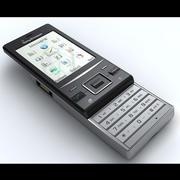 Sony Ericsson Hazel 3d model