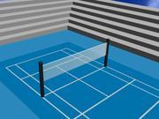 Tenis kortu 3d model
