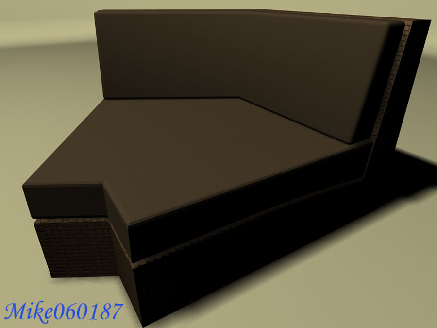 Collezione di divani royalty-free 3d model - Preview no. 5