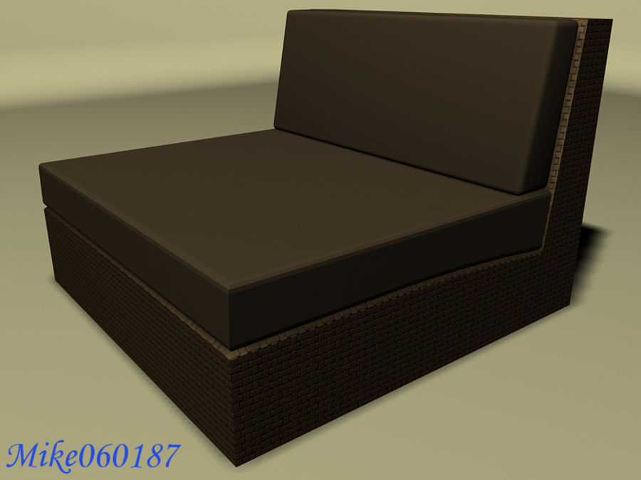 Collezione di divani royalty-free 3d model - Preview no. 4