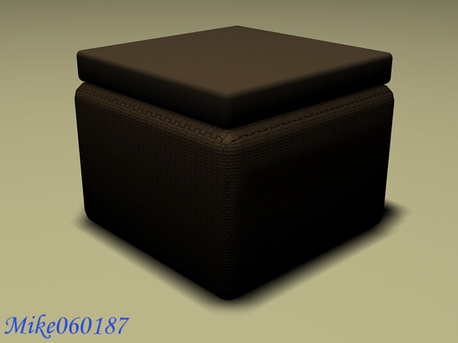 Collezione di divani royalty-free 3d model - Preview no. 6