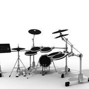 drums.c4d 3d model