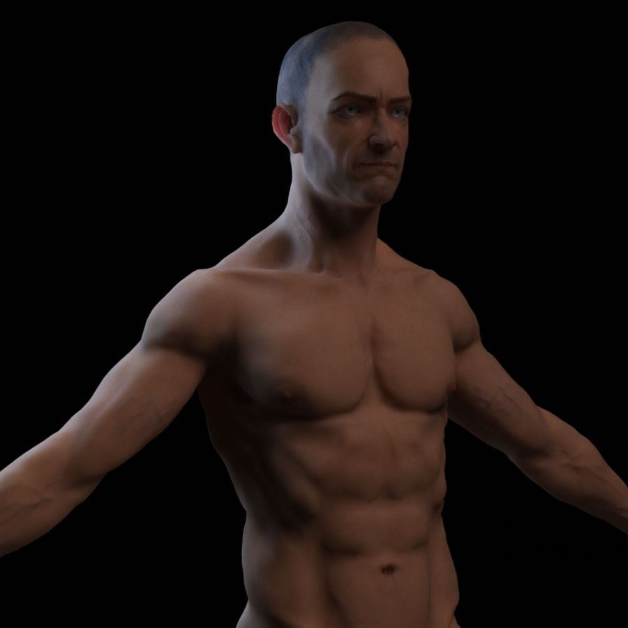 Bruce royalty-free 3d model - Preview no. 1