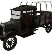 truck variantes obj.rar 3d model