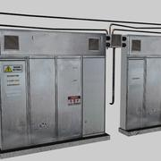 caixa eletricidade grande c4d.rar 3d model