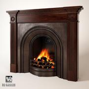 Stovax Georgian Fireplace 3d model