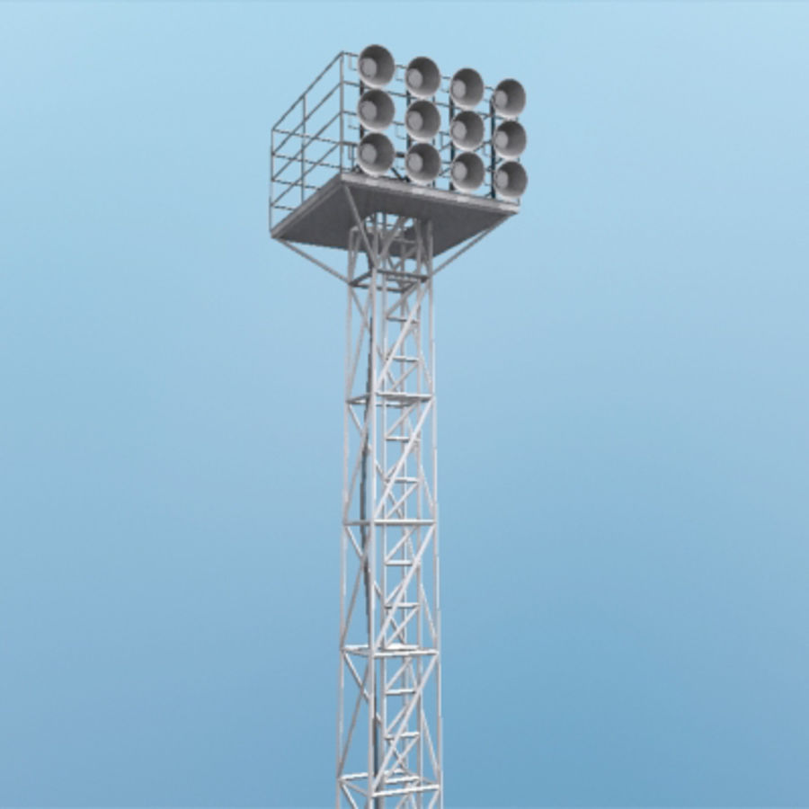 Stadium Lights C4d