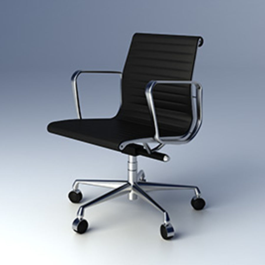 Eames Aluminium Group Management Chair Royalty Free 3d Model   Preview No. 1