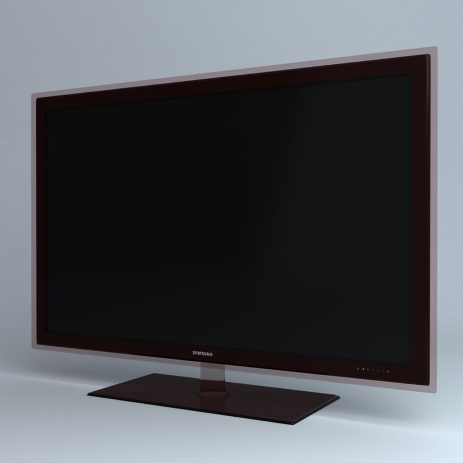 Samsung TV LED UE40B7020 royalty-free modelo 3d - Preview no. 1