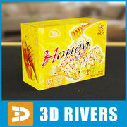 Box av Granco mellanmål av 3D Rivers 3d model