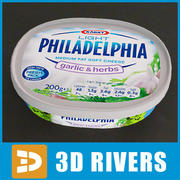 Confezione di formaggio morbido 02 di 3DRivers 3d model