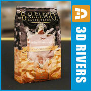 Кофейный пакет от 3DRivers 3d model
