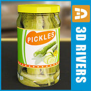 Pickles jar by 3DRivers 3d model