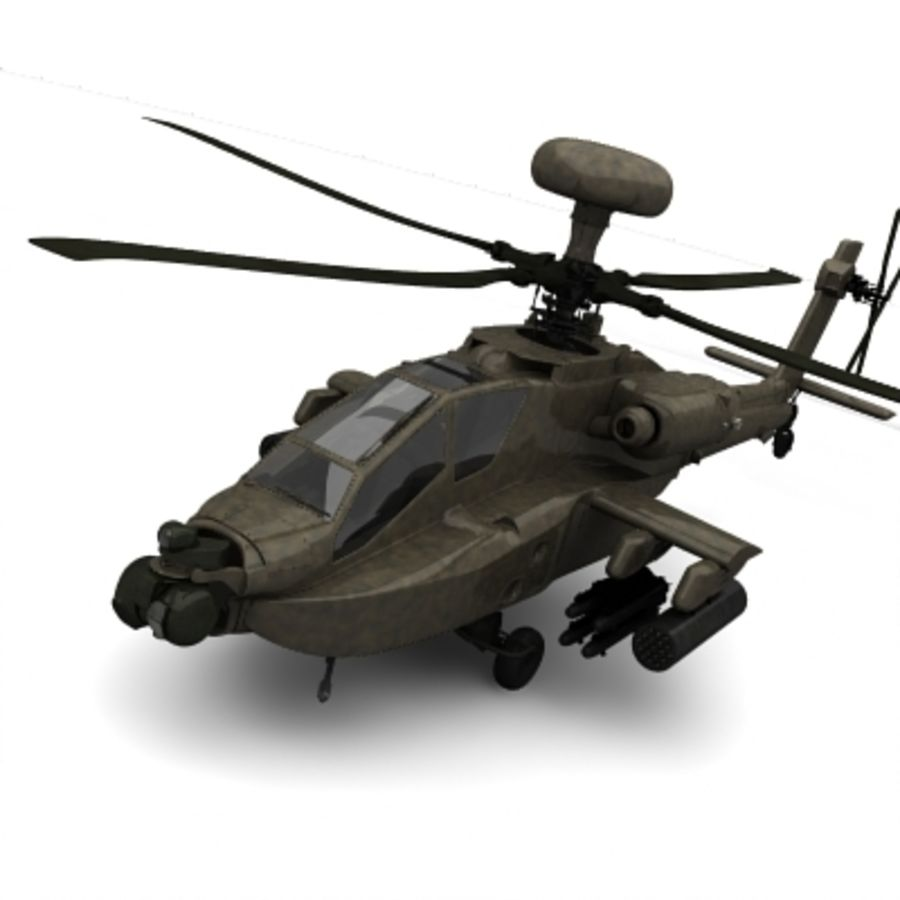 Helicopter royalty-free 3d model - Preview no. 2