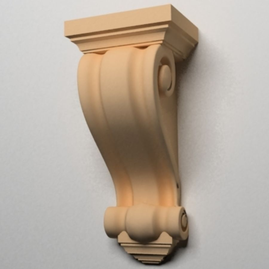 Corbel (M3) royalty-free 3d model - Preview no. 12