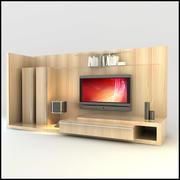 TV / Wall Unit Modern Design X_12 3d model