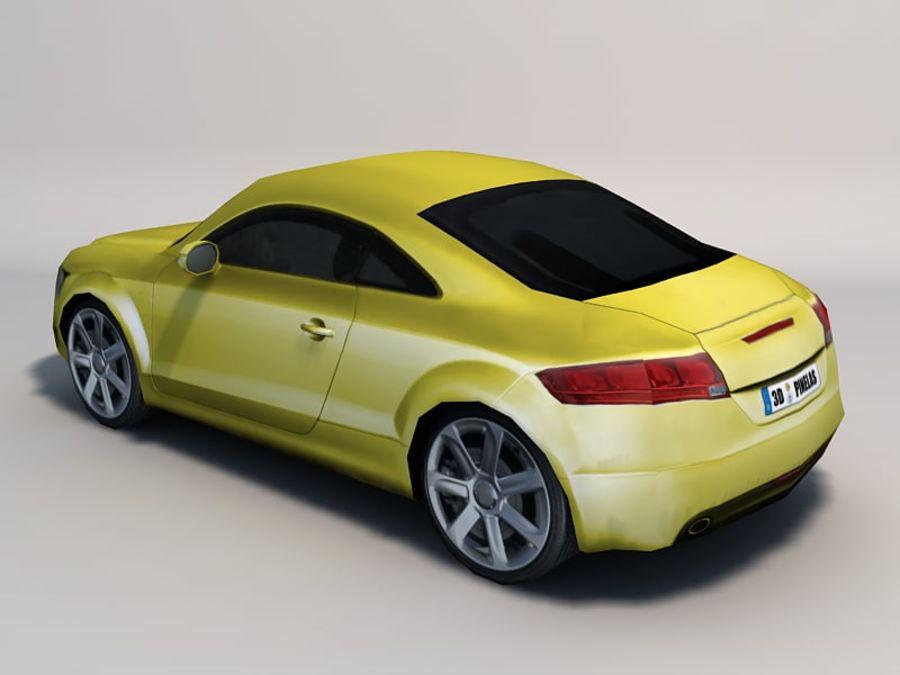 Автомобиль 01 royalty-free 3d model - Preview no. 8