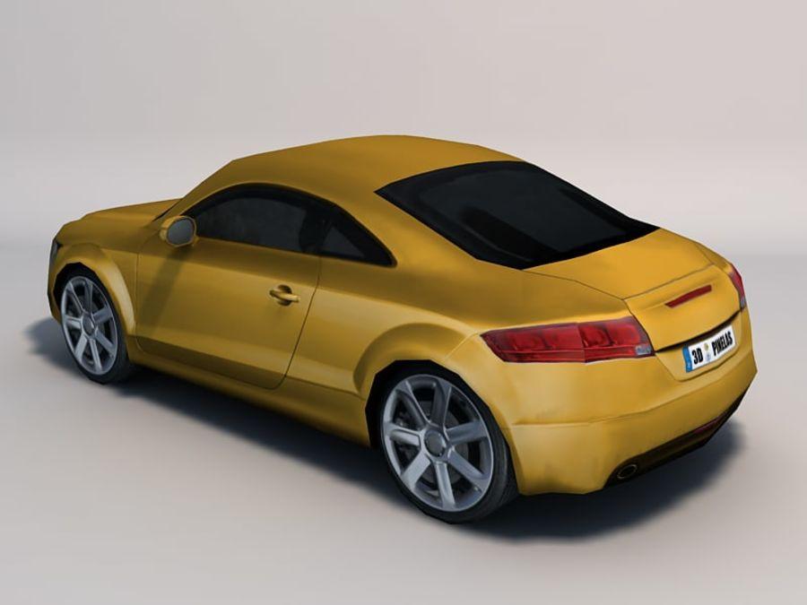 Автомобиль 01 royalty-free 3d model - Preview no. 7