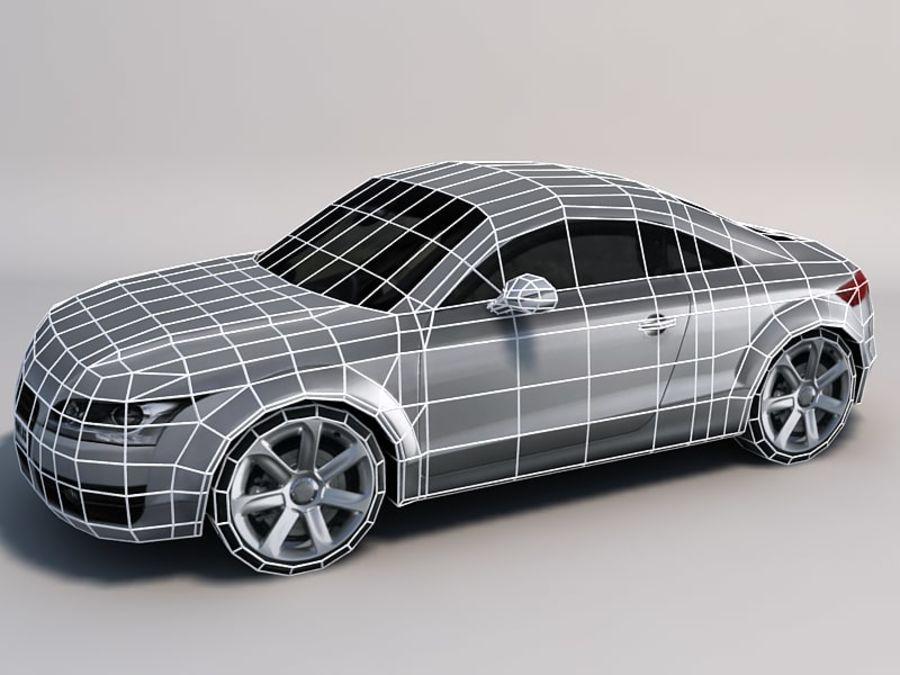 Автомобиль 01 royalty-free 3d model - Preview no. 2