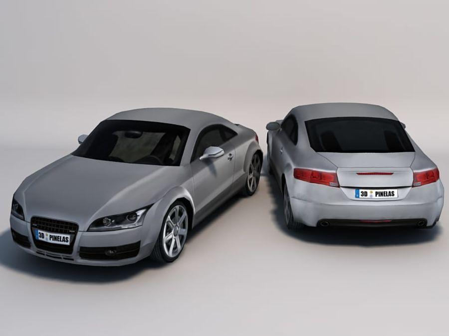 Автомобиль 01 royalty-free 3d model - Preview no. 5