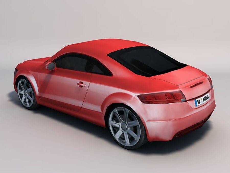 Автомобиль 01 royalty-free 3d model - Preview no. 9