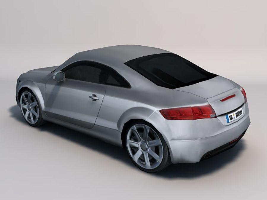 Автомобиль 01 royalty-free 3d model - Preview no. 3
