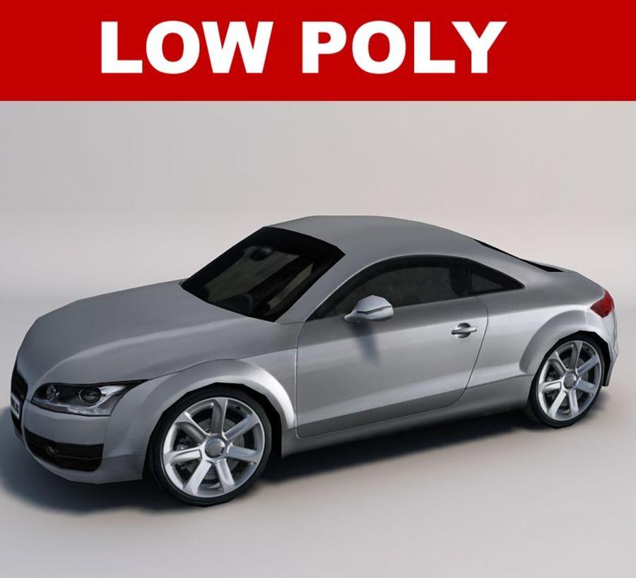 Автомобиль 01 royalty-free 3d model - Preview no. 1