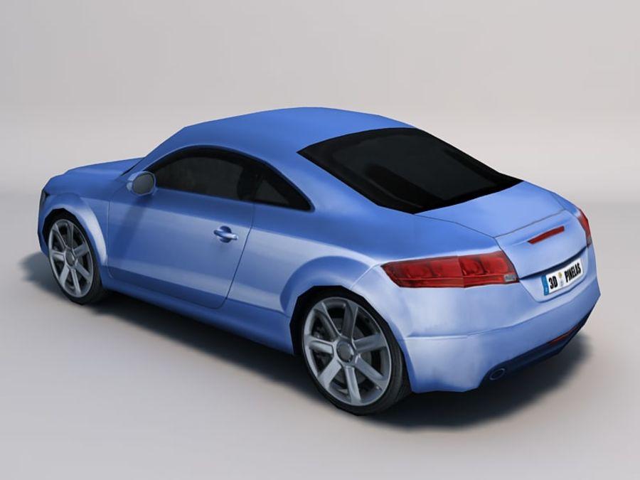 Автомобиль 01 royalty-free 3d model - Preview no. 6