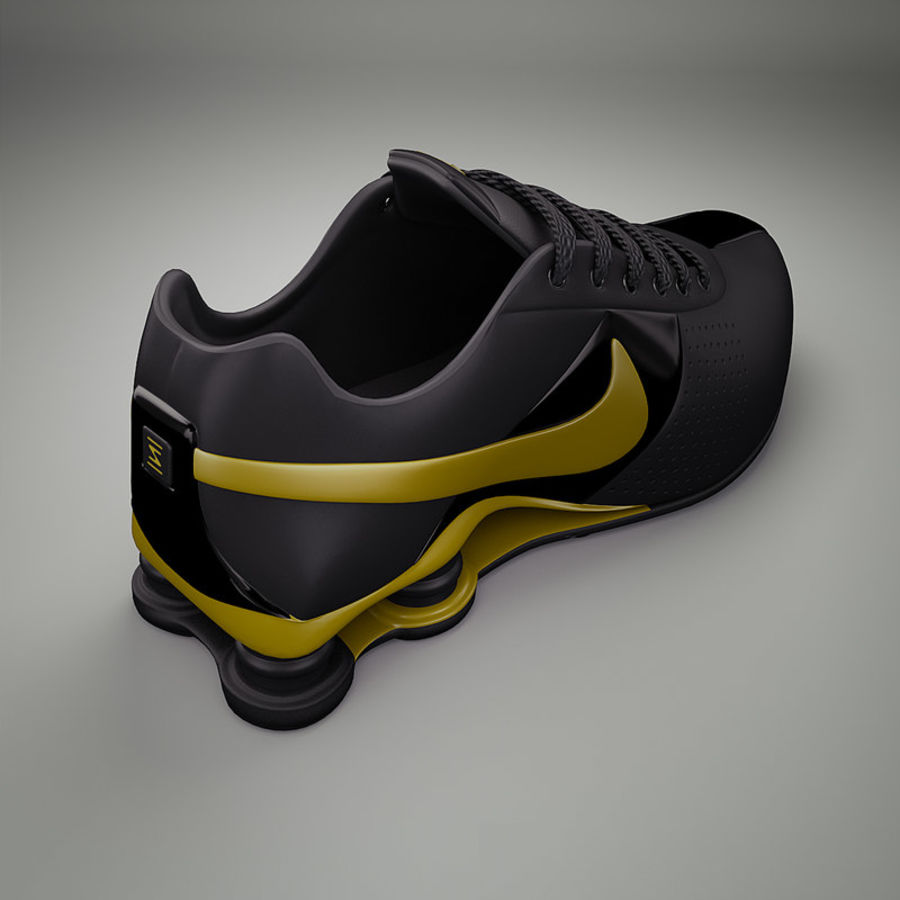 Sport shoes - sneakers royalty-free 3d model - Preview no. 3