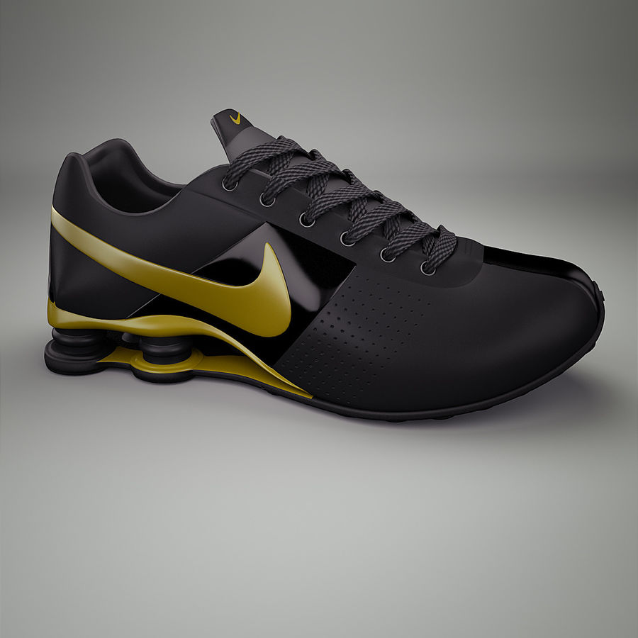 Sport shoes - sneakers royalty-free 3d model - Preview no. 1