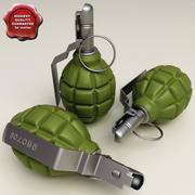 Grenade F 1 3d model