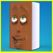얼굴 책 3d model